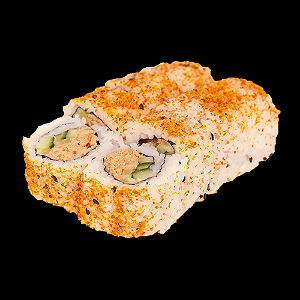 Foto Spicy zalm roll