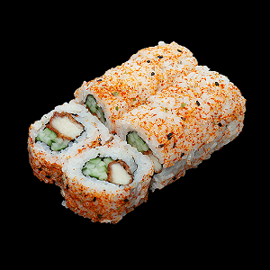 Foto Spicy chicken roll
