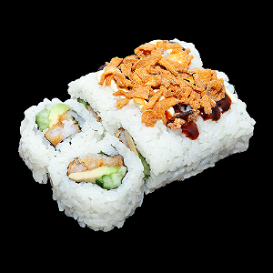 Foto Crunchy soft shell crab roll