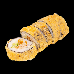 Foto Fried crispy chicken roll