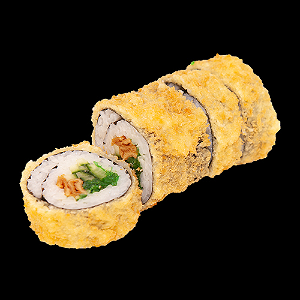 Foto Fried crispy vegetarian roll