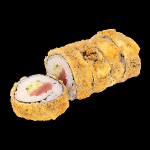 Foto Fried crispy tuna roll
