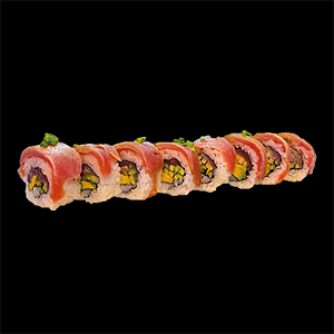 Foto Flamed tuna roll
