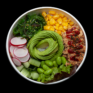 Foto Spicy tuna touchdown bowl